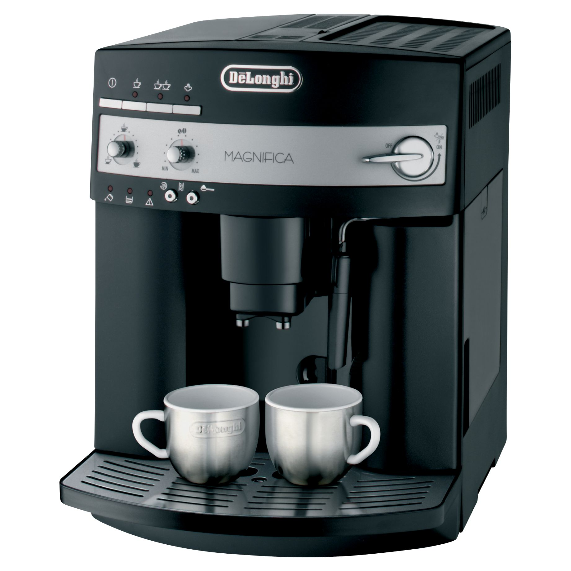 Italian Coffee Maker John Lewis : Buy De Longhi ESAM3000.B Magnifica Bean-to-Cup Coffee Machine, Black John Lewis